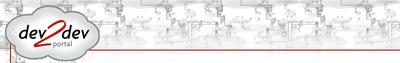 dev2dev logo and banner horiz 800w127h